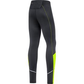 GORE WEAR R3 Spodnie termiczne Mężczyźni, black/neon yellow